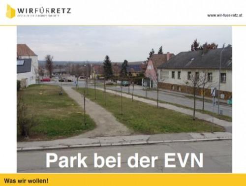 EVN Park - Neugestaltung