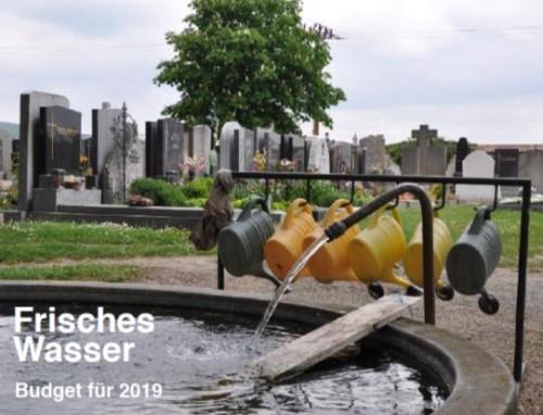 Wasserhähne am Friedhof wären wünschenswert