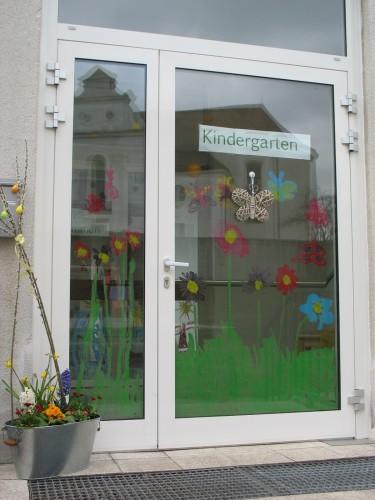 Eingang neue Kindergartengruppe