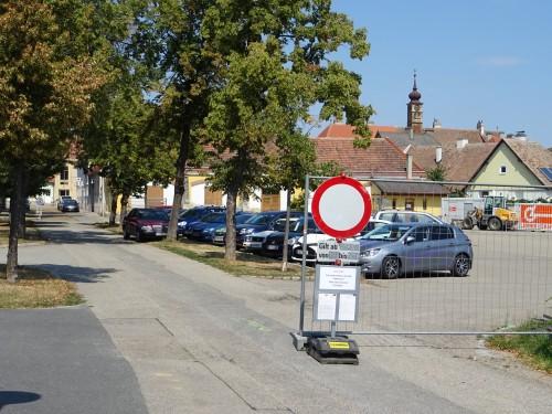 Seit 6. August sind der Alte Sportplatz und Teile der Jahnstraße gesperrt