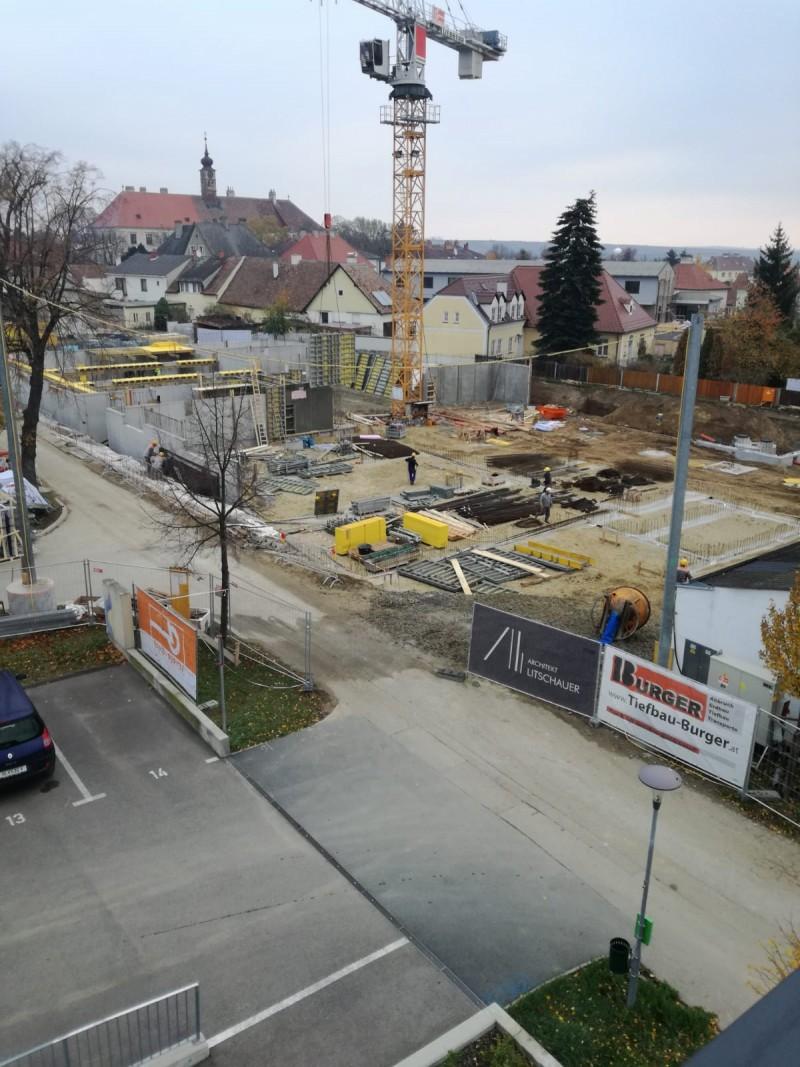 Baufortschritt Alter Sportplatz November 2018