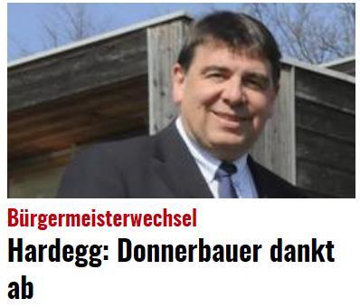 Donnerbauer dankt ab